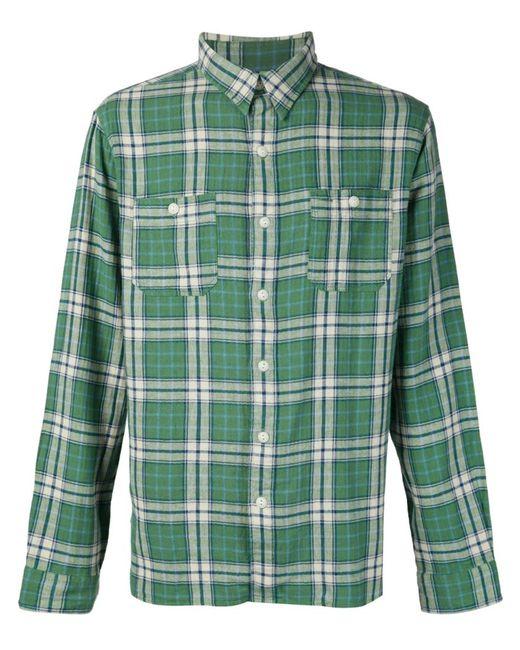 RRL | Мужское Зелёный Plaid Shirt