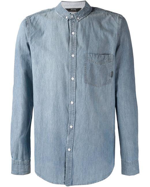 NEUW | Мужская Синяя Рубашка Bob