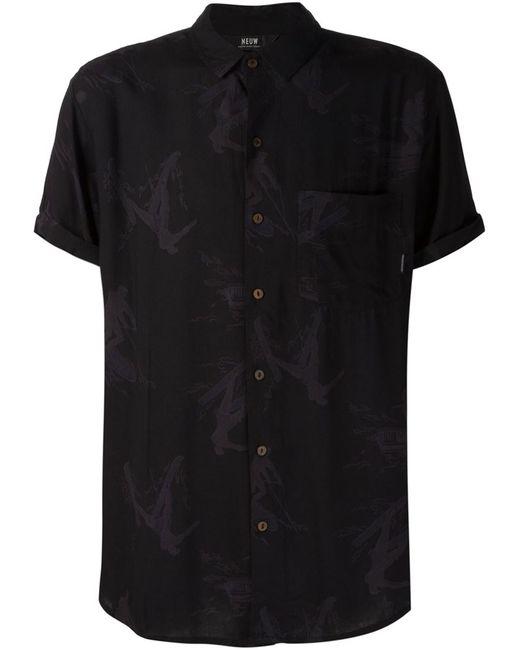 NEUW | Мужская Чёрная Рубашка Hunter