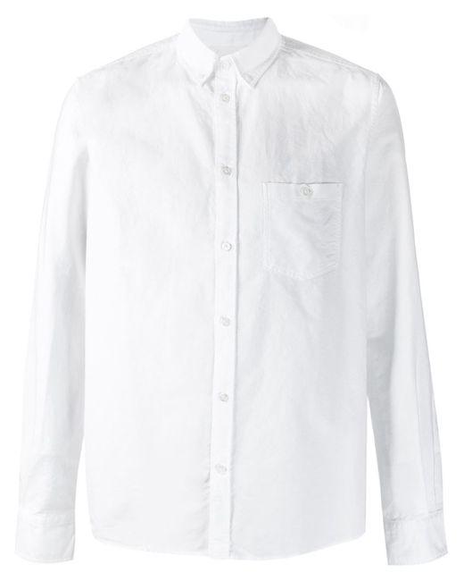 Norse Projects   Мужская Белая Рубашка Anton Oxford