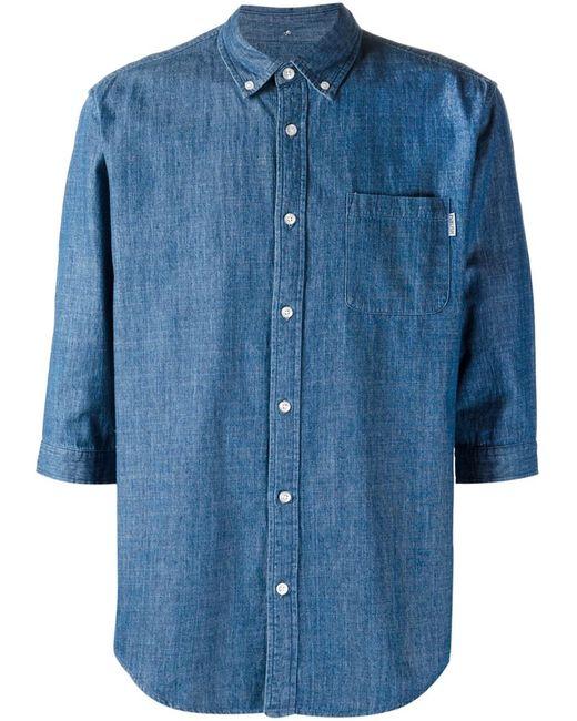 Publish | Мужская Синяя Рубашка Daner