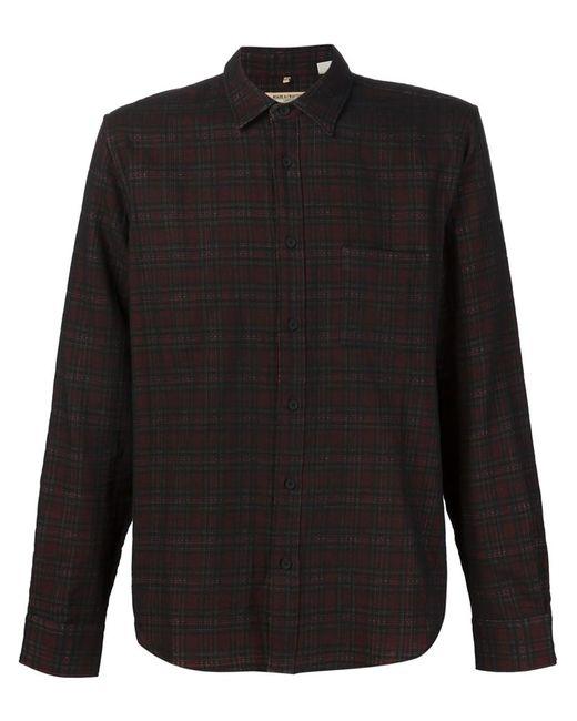 Levi'S®  Made & Crafted™ | Мужская Чёрная Рубашка В Клетку