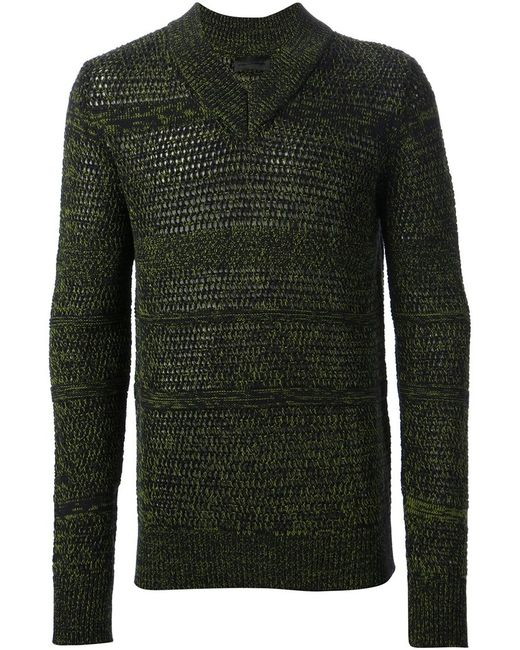 Diesel Black Gold   Мужское Чёрный Kalendo Sweater