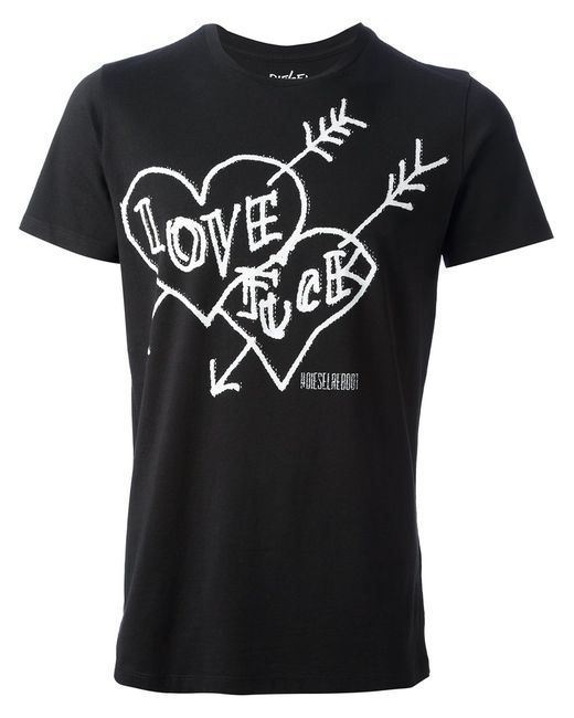 Diesel | Чёрный Reboot Freedom T-Shirt