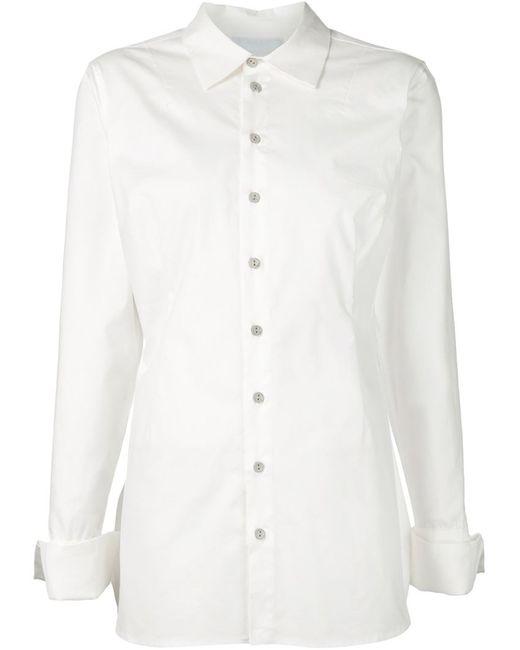 CHEREVICHKIOTVICHKI   Женская Белая Классическая Рубашка