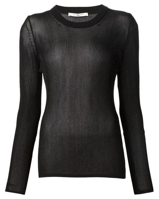 Givenchy   Женское Чёрный Lightweight Sweater