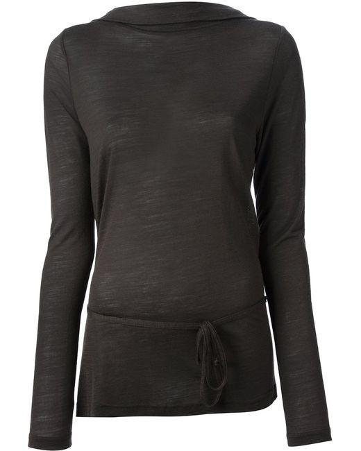 Ann Demeulemeester   Женское Зелёный Back Wrap Sweater