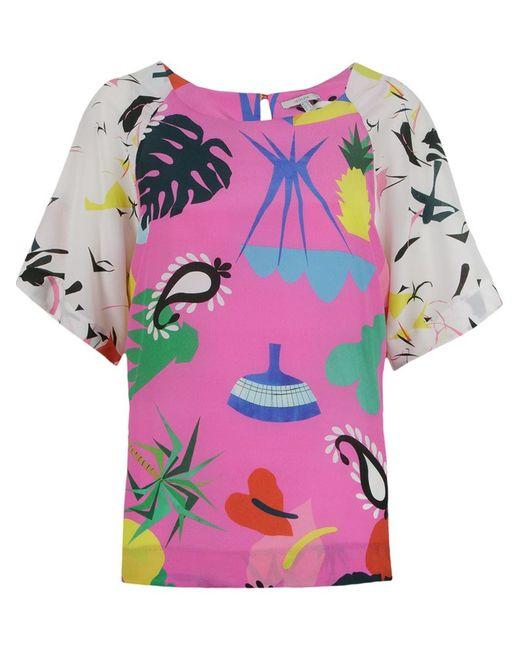 Isolda | Женское Розовый Niemeyer Panelled Blouse