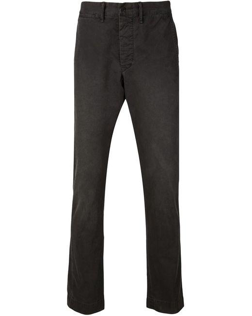 RRL | Мужское Чёрный Slim Fit Trousers