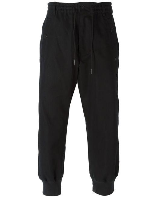 Y-3 | Мужское Чёрный Gathered Ankle Track Pants