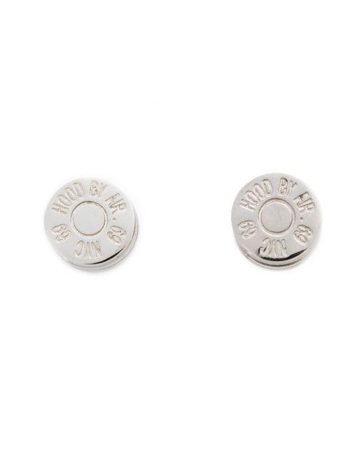 HOOD BY AIR | Серый Bullet Magnetic Earrings