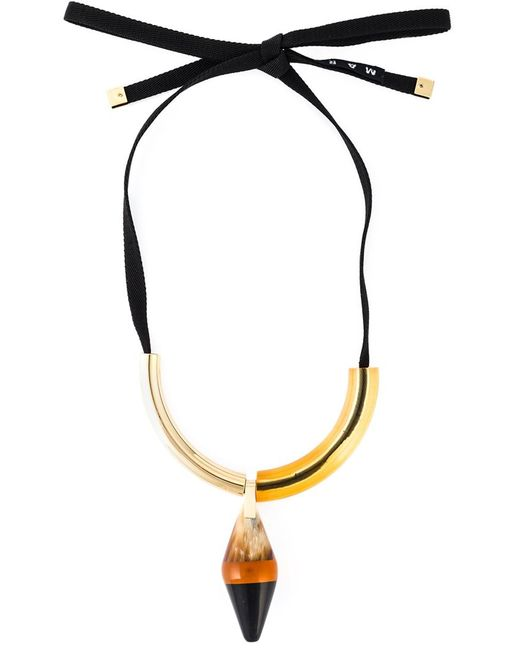 Marni   Женское Желтый Runway Necklace