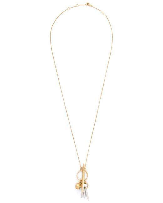 Chloe   Женское Желтый Charm Pendant Necklace