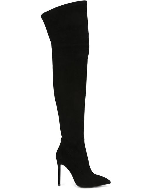 GIANNI RENZI | Женское Чёрный Over The Knee Stiletto Boots