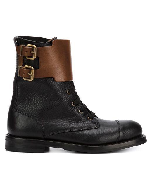 Vivienne Westwood | Женское Чёрный Double Buckle Boots