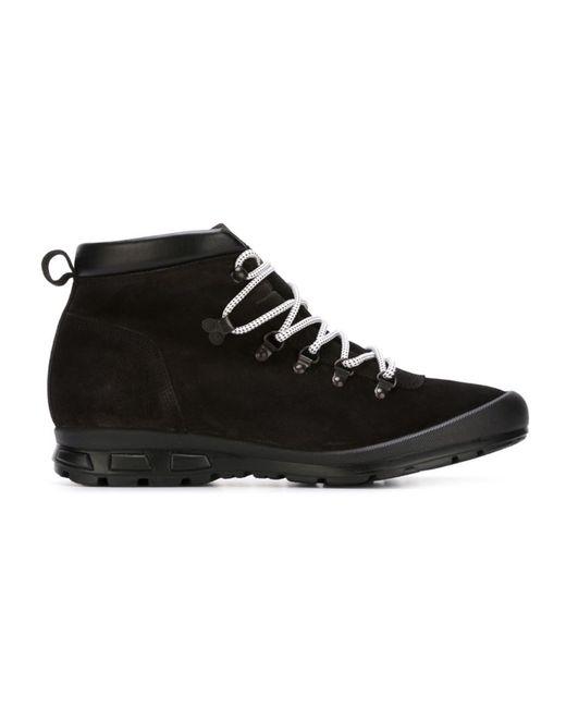 Emporio Armani | Мужские Чёрные Треккинговые Ботинки