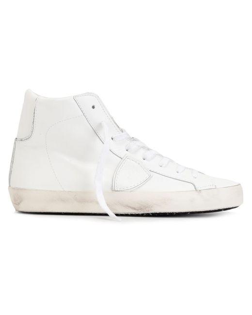 Philippe Model | Женское Белый Classic Hi-Top Sneakers