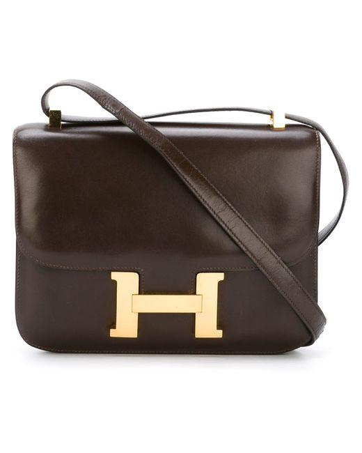 Hermès Vintage   Женское Коричневый Constance Shoulder Bag