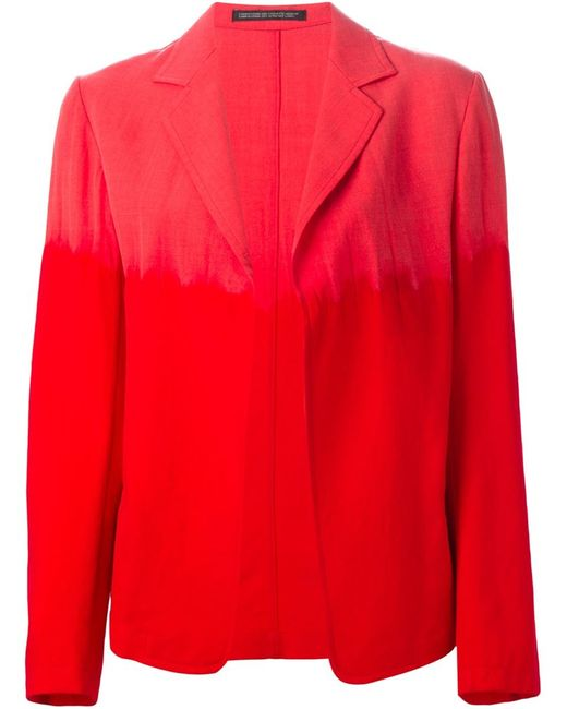 YOHJI YAMAMOTO VINTAGE | Мужское Красный Gradient Blazer