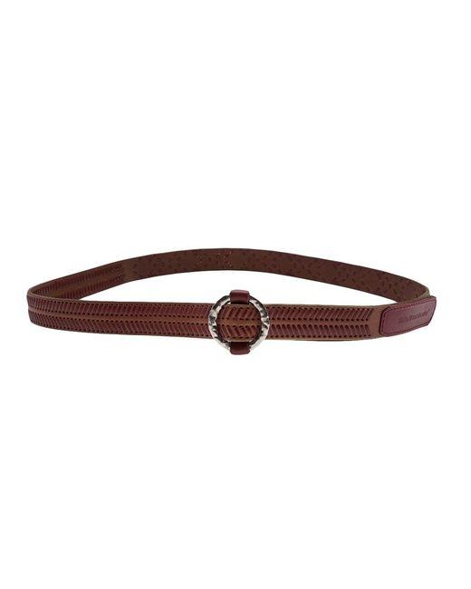 White Mountaineering   Мужское Коричневый Leather Belt