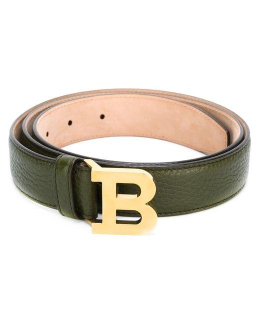 Bally | Женское Зелёный Logo Buckle Belt