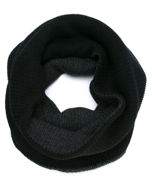 Forme D'Expression   Чёрный Вязаный Шарф-Хомут