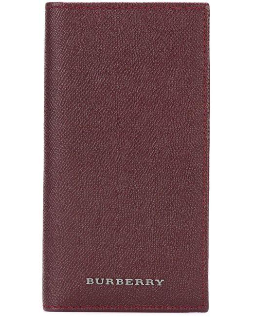 Burberry | Мужское Красный Embossed Logo Wallet