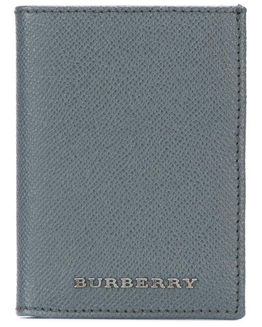 Burberry | Мужское Серый Embossed Logo Wallet