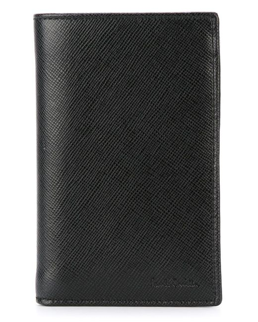 Paul Smith | Чёрный Fold Over Wallet