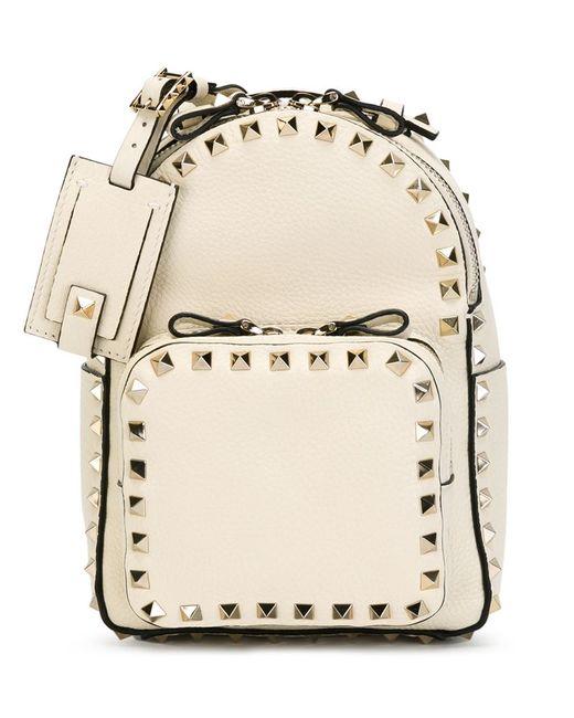 Valentino Garavani | Женское Nude & Neutrals Small Rockstud Backpack