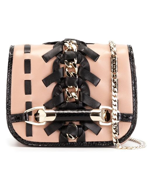 Jimmy Choo | Женское Розовый Zadie Cross Body Bag