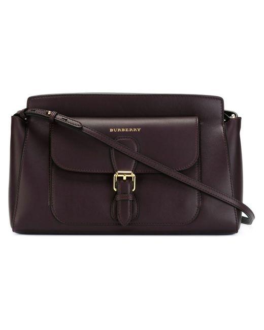 Burberry | Женское Красный Small Saddle Bag
