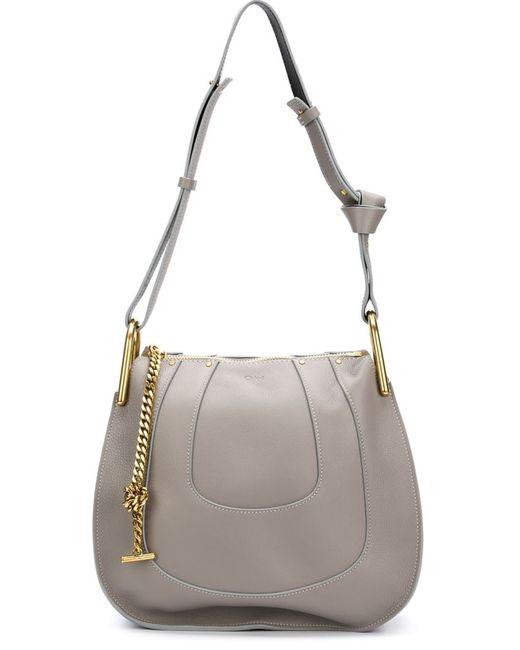 Chloe   Женское Серый Hayley Shoulder Bag