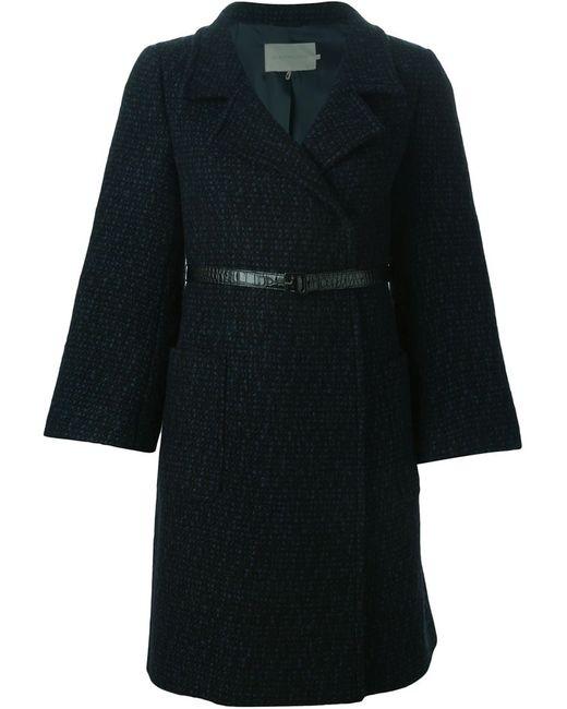 L' Autre Chose | Женское Синее Двубортное Пальто