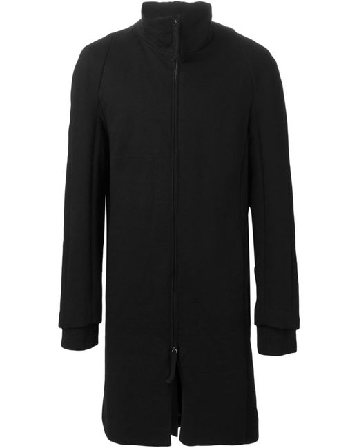 INDIVIDUAL SENTIMENTS | Мужское Чёрное Пальто На Молнии