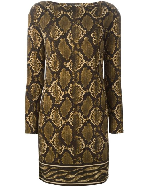 Michael Michael Kors | Женское Python Print Dress