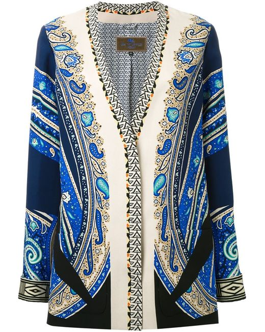 Etro   Женское Многоцветный Paisley Print Jacket