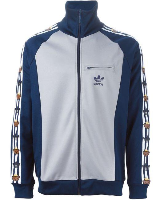 adidas Originals | Мужская Серая Спортивная Куртка Adidas Original X Nigo