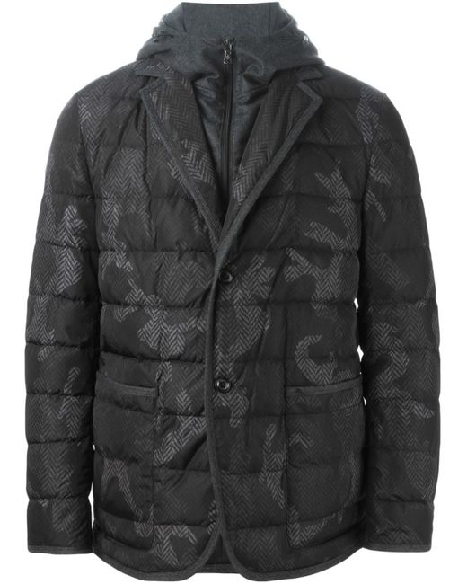 Moncler | Мужское Серый Rocher Padded Jacket