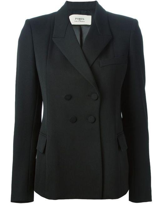 Ports | Женское Чёрный Double Breasted Blazer