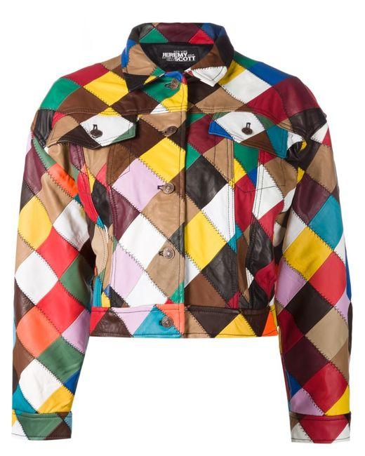 Jeremy Scott | Женское Многоцветный Patchwork Jacket