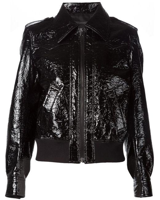Comeforbreakfast | Женское Чёрный Classic Collar Jacket