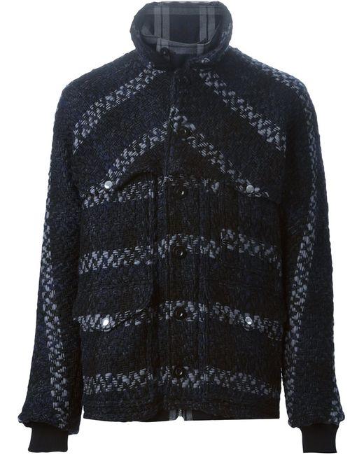 Sacai   Женское Reversible Tweed Jacket