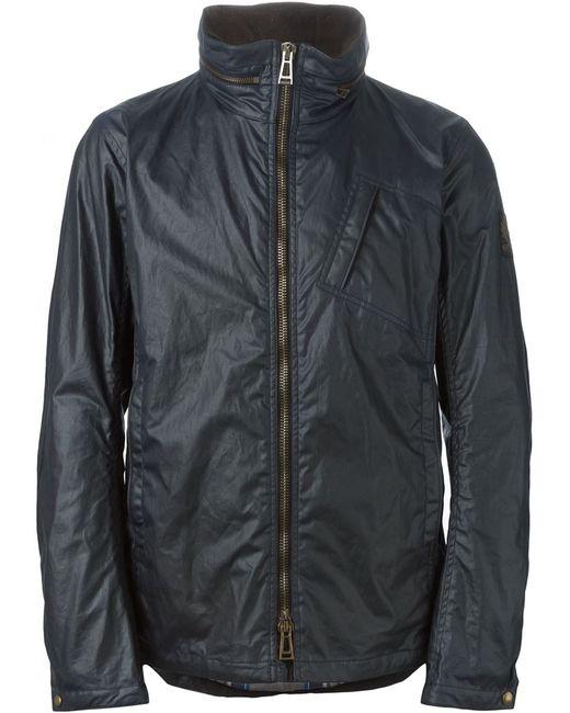 Belstaff   Мужское Синий Zip Windbreaker Jacket