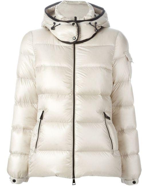 Moncler | Женское Белый Hooded Padded Jacket