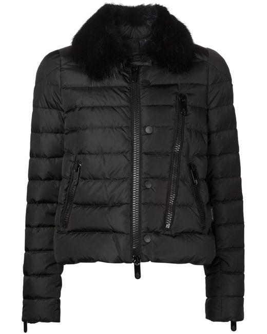 Moncler | Женское Чёрный Fur Collar Padded Jacket