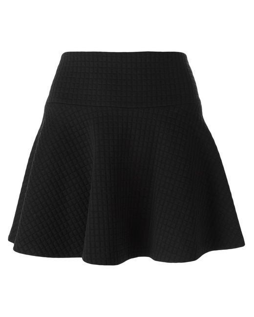 Alice + Olivia | Женское Чёрный Godet Hem Mini Skirt