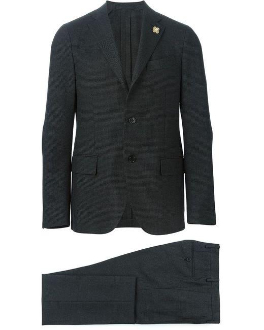 Lardini | Мужской Серый Классический Костюм