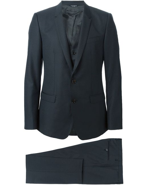 Dolce & Gabbana | Мужской Серый Классический Костюм