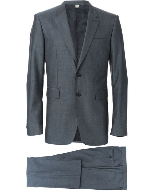 Burberry London | Мужское Синий Two Piece Suit